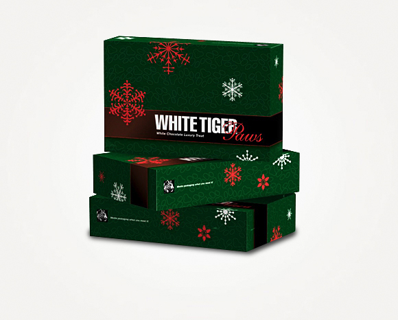 Packaging - White Tiger Printing - White Tiger Paws - Candy Box 1